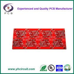 De doble cara y única de bajo coste de fabricación de PCB Fabricación de circuito impreso PCB