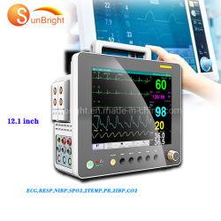 12.1 인치 - 높은 해결책 색깔 LCD 병원 ICU 참을성 있는 모니터