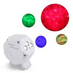 Проектор ночного освещения 3 в 1-звездочный лампы проектора с Bluetooth Музыка динамика и радиочастотный пульт дистанционного управления