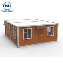 Certificato ISO Design moderno telaio in acciaio contenitore Casa in casa Design