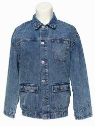 Boutique all'ingrosso Moda ragazza giacca in denim outwear Giacche in denim