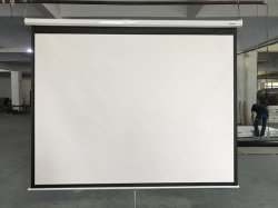 /Montage mural de plafond tendu l'onglet Écran de projection motorisés