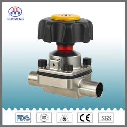 Санитарные из нержавеющей стали SS304/316L установления прямой мембранный клапан& клапана из нержавеющей стали