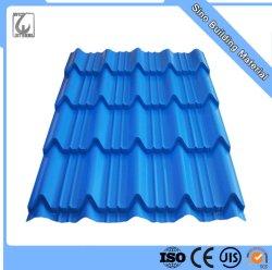 建築材料のタタの鋼鉄屋根シートの価格0.4mmカラー上塗を施してある鋼板