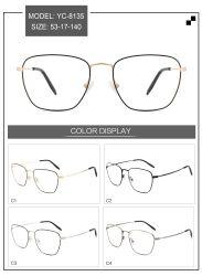 Het Optische Metaal van uitstekende kwaliteit Eyewear van de Glazen van het Schouwspel van het Frame In het groot