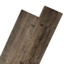 Grãos de madeira castanha Spc Clique em pisos de vinil com IXPE