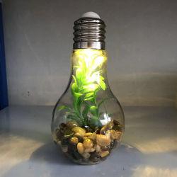 Miniatur Landscape Lampe, Glasdekoration mit LED-Lampe für Hochzeit Weihnachtsfeier DekorationenInnenbeleuchtung
