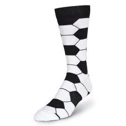 Qualidade elevada homens respirável meias de futebol