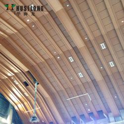 OEM personalizados de alumínio tecto em forma de tectos falsos suspendeu o sistema de ladrilhos