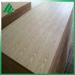 Seul le placage de chêne rouge naturel fini de placage bois MDF 18mm