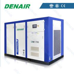 Compressore d'aria rotativo della vite di frequenza variabile stazionaria lubrificata industriale di conversione ABB di corrente alternata