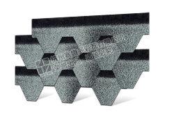 Shingles esagonali Mosaic per asfalto fabbrica