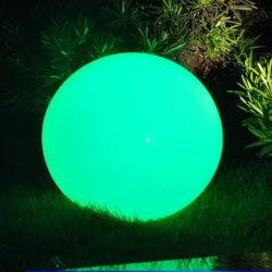 Imperméable en plastique de la batterie décoration lumière brillant LED jusqu'Balls / Piscine Boule LED de l'éclairage