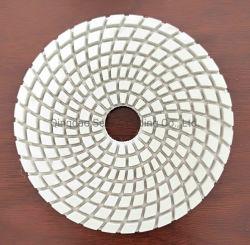 La Corée type en spirale de haute qualité humides et secs de tampon de polissage de diamants
