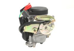 Gy6 50cc Keihin Conjunto Carburador Pd18 W/ Accelerator para motociclo Scooter ATV