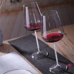 Hersteller Wholesale preiswertes kundenspezifisches trinkende Glas-klar Becher-Wein-Glas