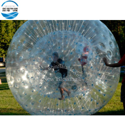 Géant gonflable en PVC transparent Body Zorb Ball