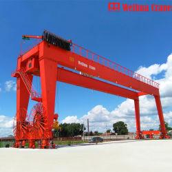 Weihuaクレーン70トン100トン150トン300トンの屋内屋外の使用モーターゴリアテの二重ビームガントリークレーン中国