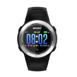 Bluetooth Remote Podómetro Tomar foto Ultra-Long impermeable en espera de protección IP68 Sport la frecuencia cardiaca de la presión sanguínea de muñeca hombres Reloj inteligente