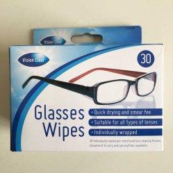 OEM / ODM lunettes Lingettes de papier de l'objectif
