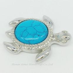 La mode haute qualité Rhinestone Accessoires Bijoux en Métal broches animale