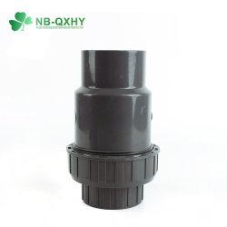 Обратный клапан трубопровода из ПВХ для орошения воды