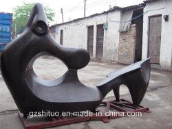 L'art abstrait de la Décoration Décoration Sculpture en bronze 2
