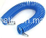 Tubo flessibile blu-chiaro di ritrazione del poliuretano (8*5mm, 15M)