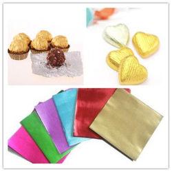 Food Grade золотого цвета алюминия алюминиевой фольги для шоколада Конфеты