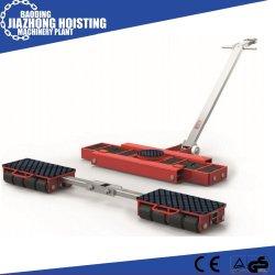 Movimento de máquina pesada Use 24ton os rolos de transporte