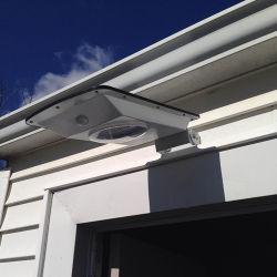 Thin-film solaire de jardin en plein air à LED Motion Éclairage de sécurité