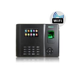 Биометрический считыватель отпечатков пальцев время посещаемости и получить доступ к системе с жидкокристаллическим дисплеем с модулем WiFi (GT210/WiFi)
