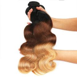Human Hair Bundles Brasilianische Human Hair Weave Ombre Haarverlängerungen