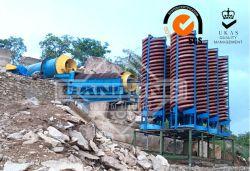 La barytine/séparateur hélicoïdal de minerai de chrome/concentrateur