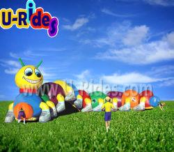 Горячие продажи фруктов червь надувной игровой туннеля надувные препятствием на пути туннеля для детей