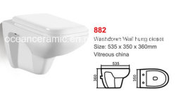 882 керамических влаги Wall-Hung туалет