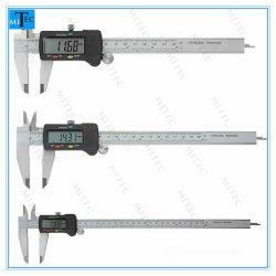 Dispositivo di misurazione calibro a corsoio digitale in acciaio inox 0-300 mm