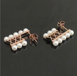 Bijoux en acier inoxydable Earrings Bijoux de mode accessoires (HDX1109)