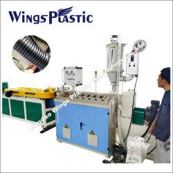 20m/min de la manguera flexible de plástico que la maquinaria, Línea de extrusión de tubo corrugado