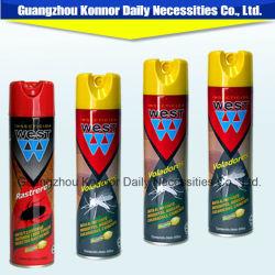 Control de insectos asesino insecticida Aerosol plaguicida