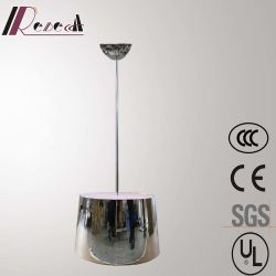 Restaurante Europeu Guzhen Banda decorativa Lâmpada Pendente de LED em Aço Inoxidável