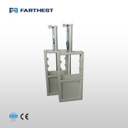 Slide Gate para el control de materiales que entran y salen