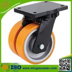 Extra Heavy Duty Caster Twin Wheels Castor