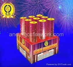 Castillo de Fuegos Artificiales un surtido de pasteles W V Z Abanico 1.3 1.4G 8 12 48 99 100 120 136 138 408 665