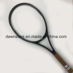 De gediplomeerde GrafietRackets van het Tennis van de Vezel OEM/ODM met Uitstekende kwaliteit