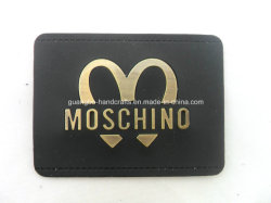 Apparel를 위한 주문 Embossed Metal Leather Patches