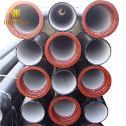 Les tuyaux de fonte ductile K9 C40 C30 C25 doublure de ciment