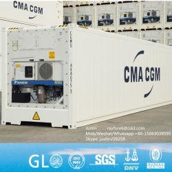 20 de Nieuwe Adelborst van voet/Gekoelde Verschepende Containers in Qingdao voor Verkoop