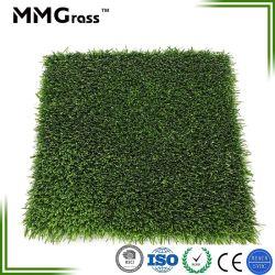 Sports Synthétique Gazon artificiel pour l'extérieur pelouse verte d'aménagement paysager de football en salle avec la CE