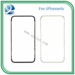 iPhone 4S 중간 날의 사면 검정 백색을%s 최신 접착제를 가진 본래 정면 접촉 스크린 프레임 날의 사면